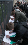 Сбор подписей к президенту РФ в связи с нападением на О.Кашина