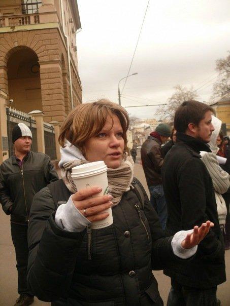 журналист радиостанции «Эхо Москвы» Ирина Воробьева