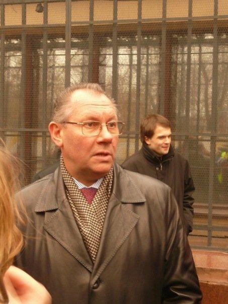 Официальный представитель ГУВД Москвы Виктор Бирюков