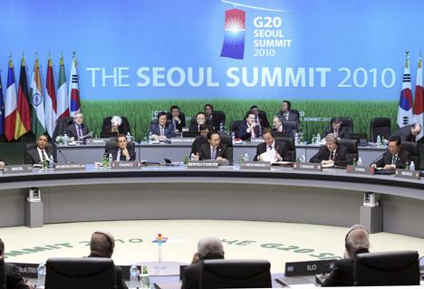 саммит «Большой двадцатки» (G-20) в Сеуле
