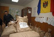 Пересчет голосов по итогам выборов в парламент Молдовы