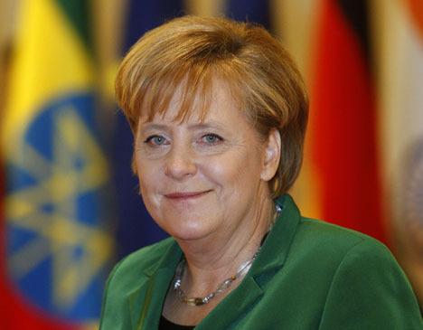 """Ангела Меркель во время саммита """"Большой двадцатки"""" в Сеуле"""