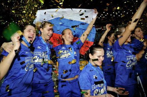 Волейболистки сборной России выиграли чемпионат мира