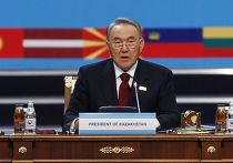 Нурсултан Назарбае на саммите обсе