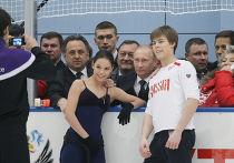 """Владимир Путин посетил учебно-тренировочный центр """"Новогорск"""""""