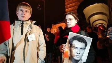 Акция памяти чешского студента Яна Палаха