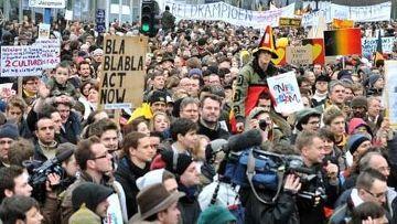 марш стыда из брюсселе