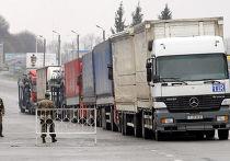 Участок украино-российской границы