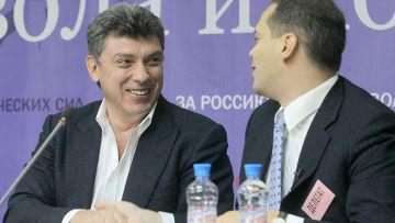 Борис Немцов, Владимир Милов