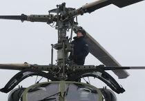 Полеты новых многоцелевых вертолетов Ка-52