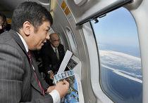 19 февраля генеральный секретарь кабинета министров Юкио Эдано (Yukio Edano) пролетел над островом Кунашир и островной грядой Хабомаи