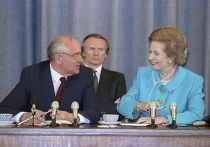 Президент М.С.Горбачев и премьер-министр М.Тэтчер