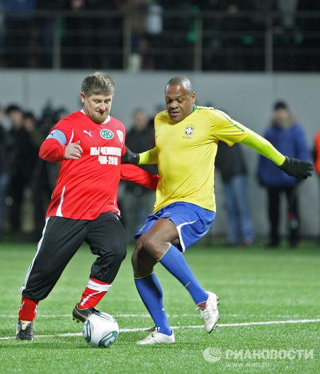 Рамзан Кадыров и Роналдао