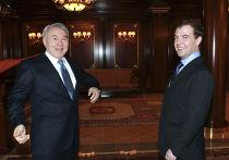 Встреча Дмитрия Медведева с Нурсултаном Назарбаевым