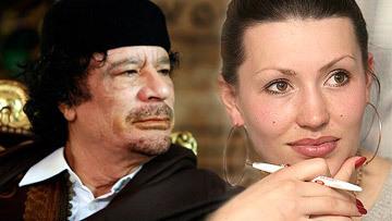 Медсестра лидера Ливии Муамра Каддафи Оксана Балинская