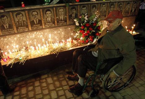 панихида по жертвам Чернобыля