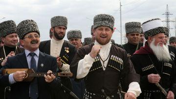 Р.Кадыров на торжествах в честь Дня чеченского языка