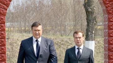 Д.Медведев участвует в мероприятиях в день 25-летия аварии ЧАЭС
