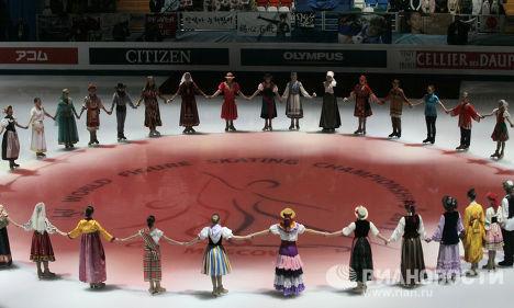 Фигурное катание. ЧМ-2011. Церемония Открытия