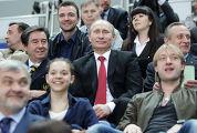 В.Путин на открытии чемпионата мира по фигурному катанию