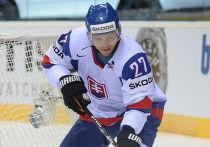 Хоккеист словацкой сборной Ладислав Надь