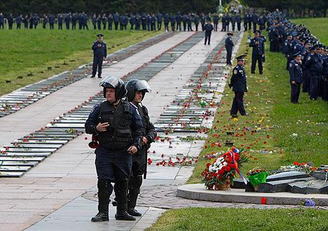9 мая во Львове произошли беспорядки и столкновения