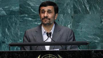 Президент Ирана Махмуд Ахмадинежад