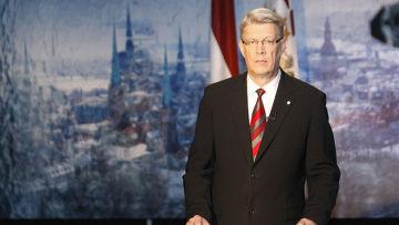 Латвии Валдис Затлерс внезапно инициировал роспуск парламента страны