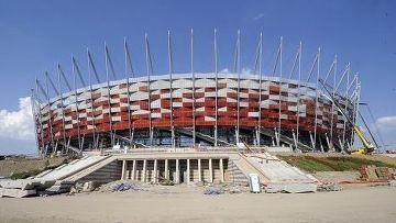 Польский Национальный стадион в Варшаве