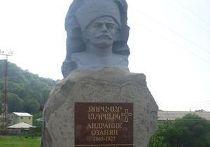 демонтаж памятника Андранику Озаняну