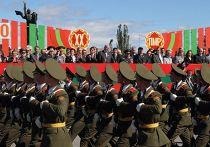 марш молдавских военнослужащих