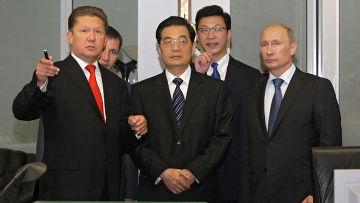 Владимир Путин встретился с Ху Цзиньтао