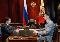 Встреча президента РФ Д.Медведева с Михаилом Прохоровым
