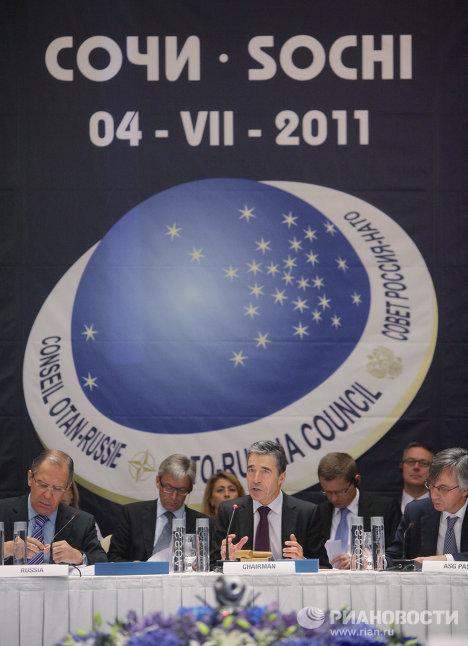 """Выездное заседание Совета """"Россия–НАТО"""" в Сочи"""