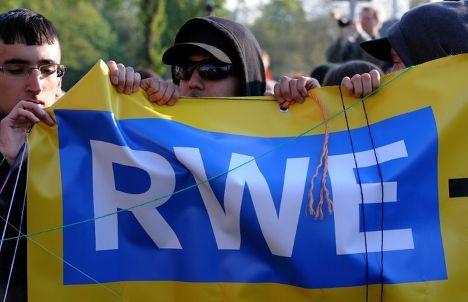 энергетическая компания Германии  RWE испытывает трудности