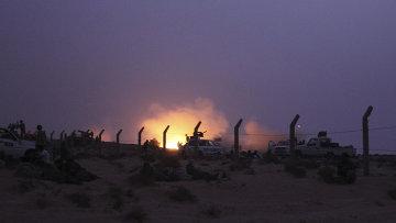 Действия сторонников и противников Каддафи в Ливии