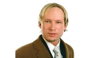 Андерс Брейвик, подозреваемый в совершении терактов в Норвегии