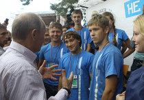 """Посещение В.Путиным молодежного форума """"Селигер-2011"""""""