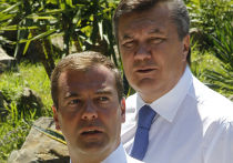 Д.Медведев принял в Сочи В.Януковича