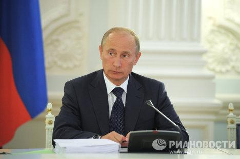 В.Путин проводит Совмин Союзного государства Россия-Белоруссия