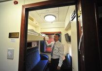 Туристический поезд отправляется по маршруту Москва – Пекин