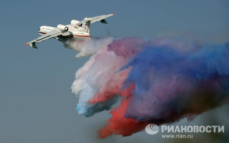 """Международный авиационно-космический салон """"МАКС-2011"""""""