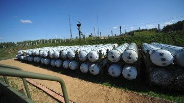 Контейнеры для хранения ракет зенитной ракетной системы С-400