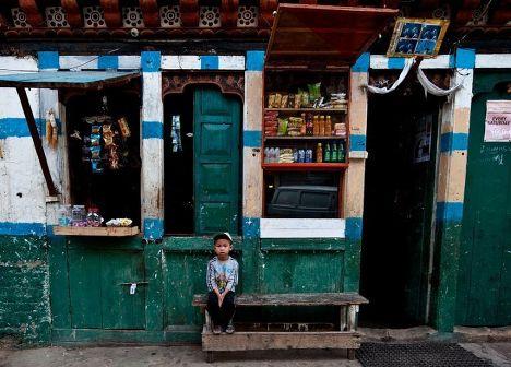 На улицах Тхимпху
