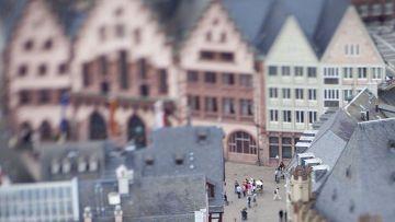 небольшой немецкий город