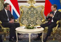 Президент РФ Д.Медведев провел переговоры с премьер-министром Великобритании Д.Кэмероном в Кремле