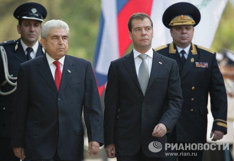 Официальный визит Д.Медведева в Республику Кипр