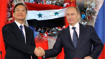 Китай, Россия, Сирия