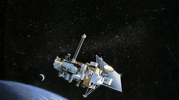 Научный спутник UARS (Upper atmosphere research satellite)