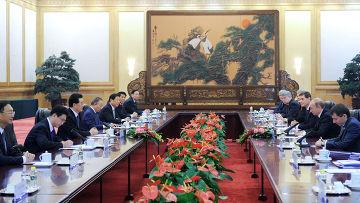 Рабочий визит премьер-министра РФ Владимира Путина в КНР